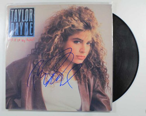 Taylor Dayne Signed Autographed
