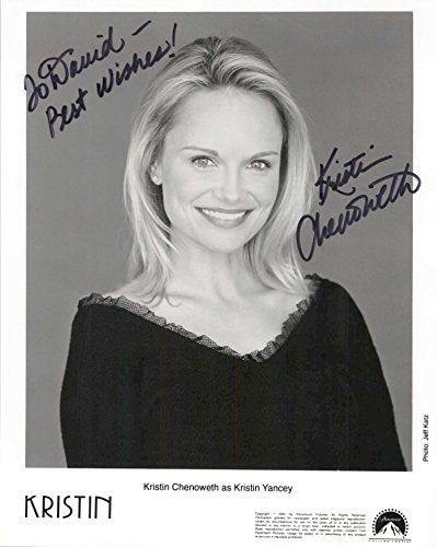 Kristin Chenoweth Signed Autographed