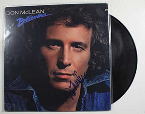 "Don McLean Signed Autographed ""Believers"" Record Album - COA Matching Holograms"