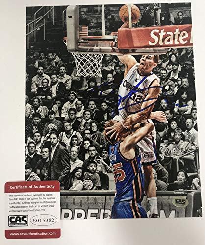 Blake Griffin Signed Autographed Glossy 8x10 Photo Los Angeles Clippers - COA Matching Holograms