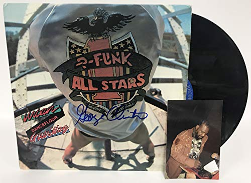 George Clinton Signed Autographed 'Urban Dancefloor Guerillas' Record Album - COA Matching Holograms
