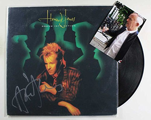 Howard Jones Signed Autographed