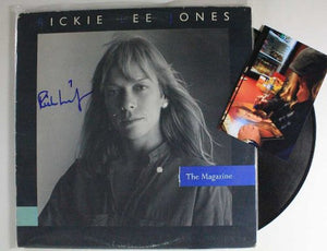 "Rickie Lee Jones Signed Autographed ""The Magazine"" Record Album - COA Matching Holograms"