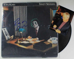"Randy Newman Signed Autographed ""Born Again"" Record Album - COA Matching Holograms"