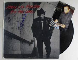 "Gary U.S. Bonds Signed Autographed ""On The Line"" Record Album - COA Matching Holograms"