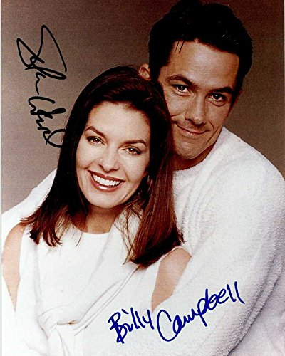 Sela Ward & Billy Campbell Signed Autographed Glossy 8x10 Photo - COA Matching Holograms