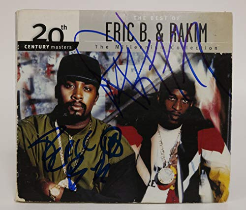 Eric B. & Rakim Signed Autographed 'The Millennium Collection' Music CD - COA Matching Holograms