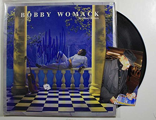 Bobby Womack Signed Autographed