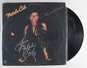 "Natalie Cole Signed Autographed ""Unpredictable"" Record Album - COA Matching Holograms"