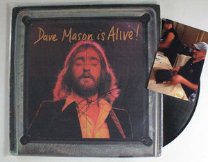 "Dave Mason Signed Autographed ""Dave Mason Is Alive!"" Record Album - COA Matching Holograms"