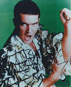 Antonio Banderas Signed Autographed Glossy 8x10 Photo - COA Matching Holograms