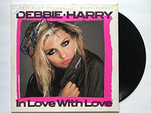 Debbie Harry Signed Autographed 'In Love With Love' Record Album - COA Matching Holograms