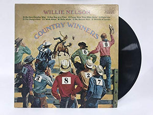 Willie Nelson Signed Autographed 'Country Winners' Record Album - COA Matching Holograms