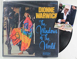 "Dionne Warwick Signed Autographed ""The Windows of the World"" Record Album - COA Matching Holograms"
