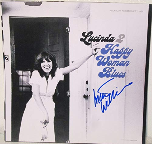 Lucinda Williams Signed Autographed 'Happy Woman Blues' 12x12 Promo Photo - COA Matching Holograms