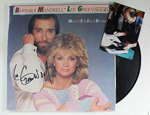 "Lee Greenwood Signed Autographed ""Meant For Each Other"" Record Album - COA Matching Holograms"