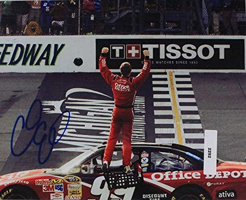 Carl Edwards Signed Autographed NASCAR Glossy 8x10 Photo