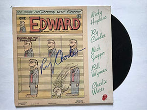 Ry Cooder Signed Autographed 'The Edward' Record Album - COA Matching Holograms