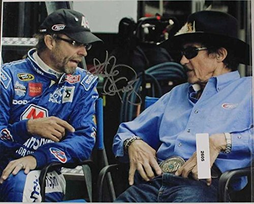 Kyle Petty Signed Autographed NASCAR Glossy 8x10 Photo