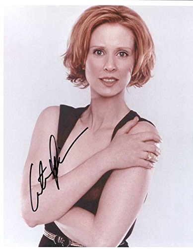 Cynthia Nixon Signed Autographed