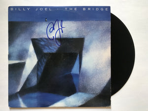 "Billy Joel Signed Autographed ""The Bridge"" Record Album - COA Matching Holograms"