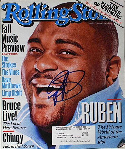 Ruben Studdard Signed Autographed Complete
