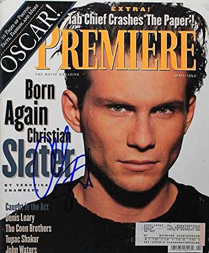 Christian Slater Signed Autographed Complete