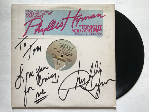 Phyllis Hyman (d. 1995) Signed Autographed