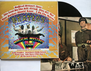 "Paul McCartney Signed Autographed ""Magical Mystery Tour"" Record Album & Beatles Picture Book Set - COA Matching Holograms"