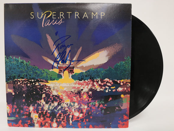 Roger Hodgson Signed Autographed