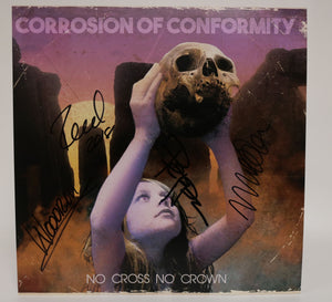 "Corrosion of Conformity Band Signed Autographed ""No Cross No Crown"" 12x12 Promo Photo - COA Matching Holograms"