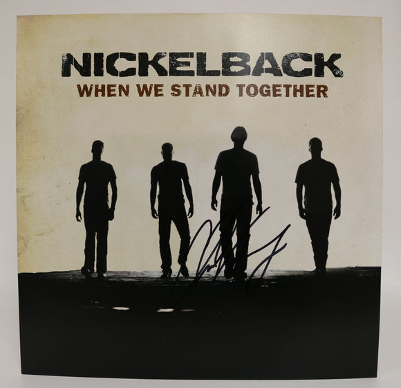 Chad Kroeger Signed Autographed 'Nickelback' 12x12 Promo Photo - COA Matching Holograms