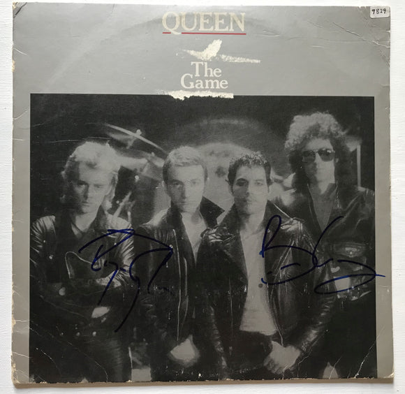 Roger Taylor & Brian May Autographed