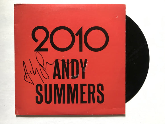 Andy Summers Signed Autographed