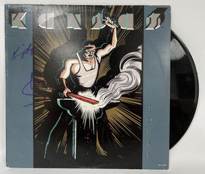 "Steve Walsh & Kerry Livgren Signed Autographed ""Kansas"" Power Record Album - COA Matching Holograms"