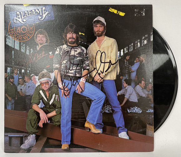 Alabama Band Signed Autographed