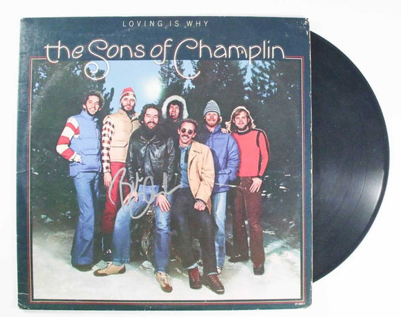 Bill Champlin Signed Autographed