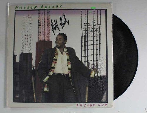 Philip Bailey Signed Autographed