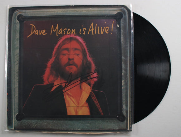 Dave Mason Signed Autographed Dave Mason Is Alive! Record Album - COA Matching Holograms