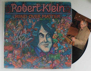 Robert Klein Signed Autographed Comedy Record Album - COA Matching Holograms
