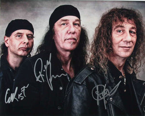 Anvil Band Signed Autographed Glossy 11x14 Photo - COA Matching Holograms