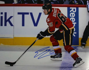 Sam Bennett Signed Autographed Glossy 11x14 Photo - Calgary Flames