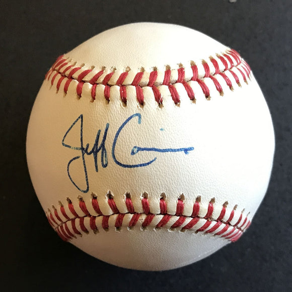 Jeff Conine Signed Autographed Official American League (OAL) Baseball - COA Matching Holograms
