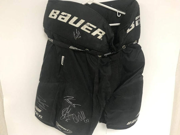 Anaheim Ducks Multi Signed Autographed Hockey Pants - COA Matching Holograms