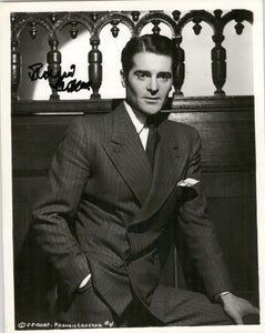 Francis Lederer (d. 2000) Signed Autographed Vintage Glossy 8x10 Photo - COA Matching Holograms