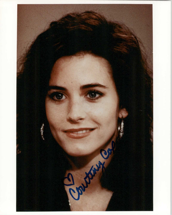 Courteney Cox Signed Autographed Friends Glossy 8x10 Photo - COA Matching Holograms