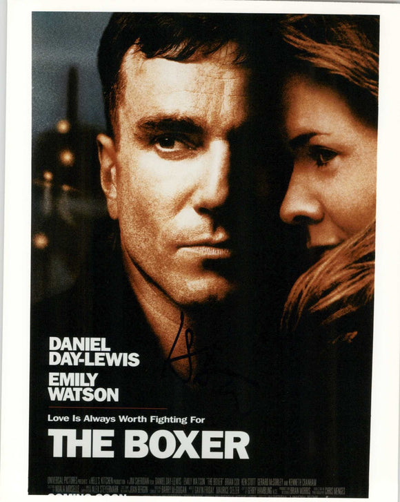 Daniel Day Lewis Signed Autographed The Boxer Glossy 8x10 Photo - COA Matching Holograms