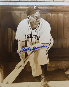 Billy Herman (d. 1992) Signed Autographed Glossy 8x10 Photo Pittsburgh Pirates - COA Matching Holograms