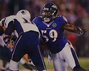 Dannell Ellerbe Signed Autographed Glossy 8x10 Photo - Baltimore Ravens