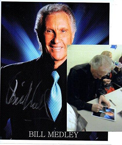 Bill Medley Signed Autographed Glossy 8x10 Photo w/ Proof Photo